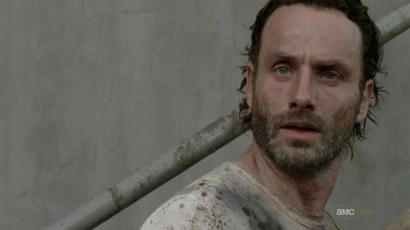 Really good actor. RIP Lori. Curious to see how Rick is going to behave with the baby now