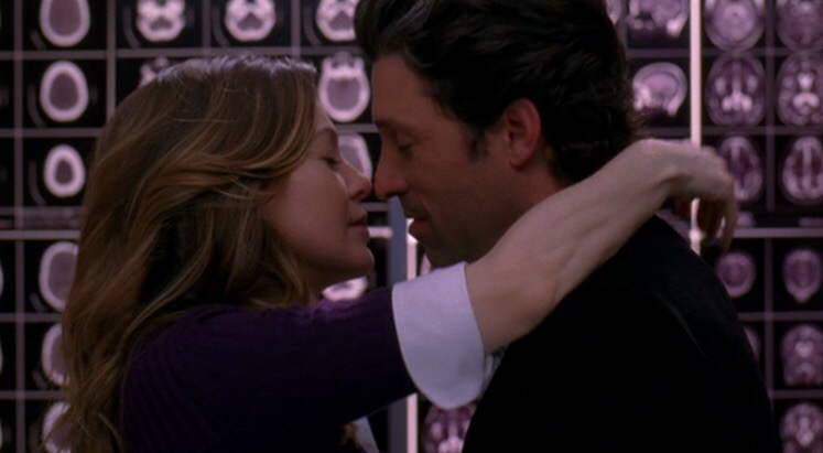 """"""" I love you, Meredith grey. And I want to spend the rest of my life with you. """"  Favorite scene 😍😩❤️❤️❤️❤️"""