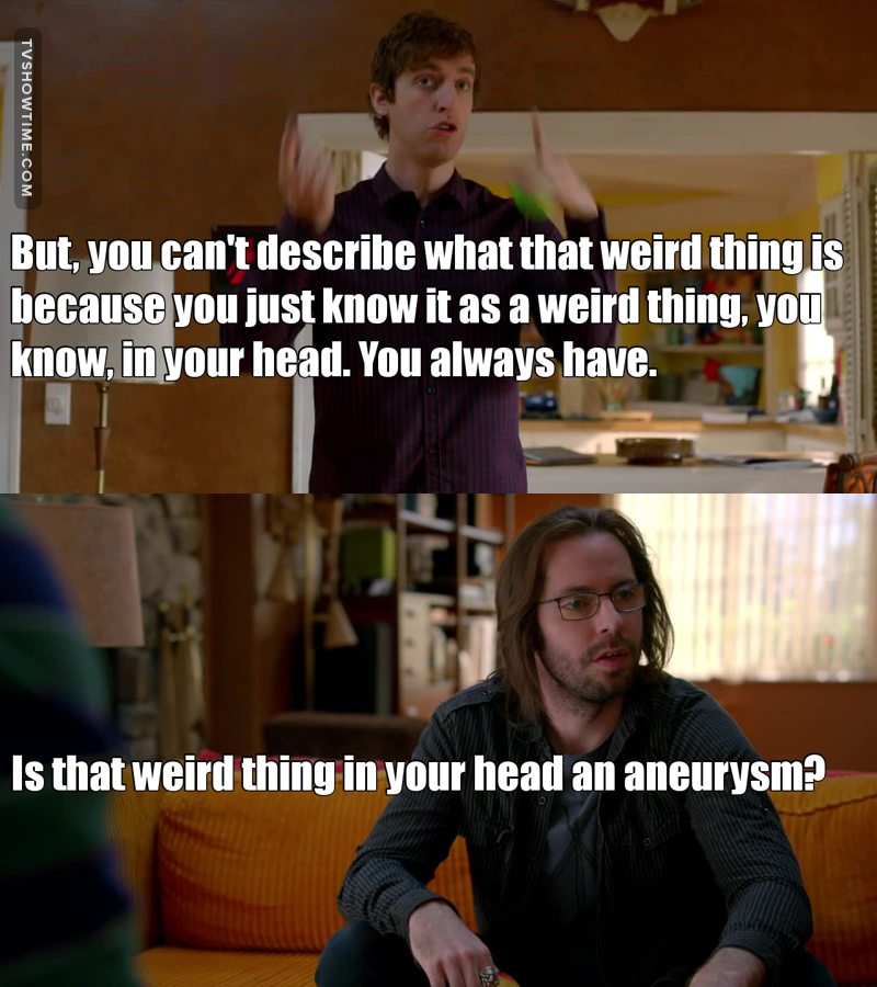 Marathoning both seasons yet again. Gilfoyle cracks me up!