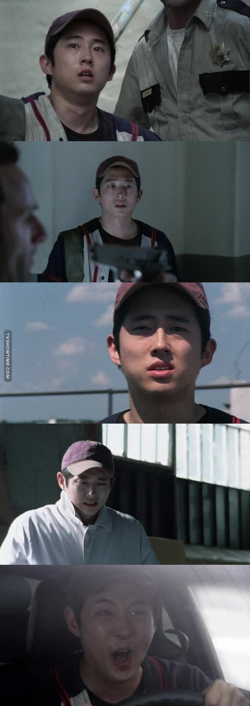 Glenn is too cute to be real