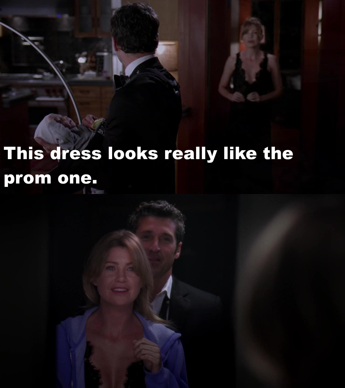 Derek's right...
