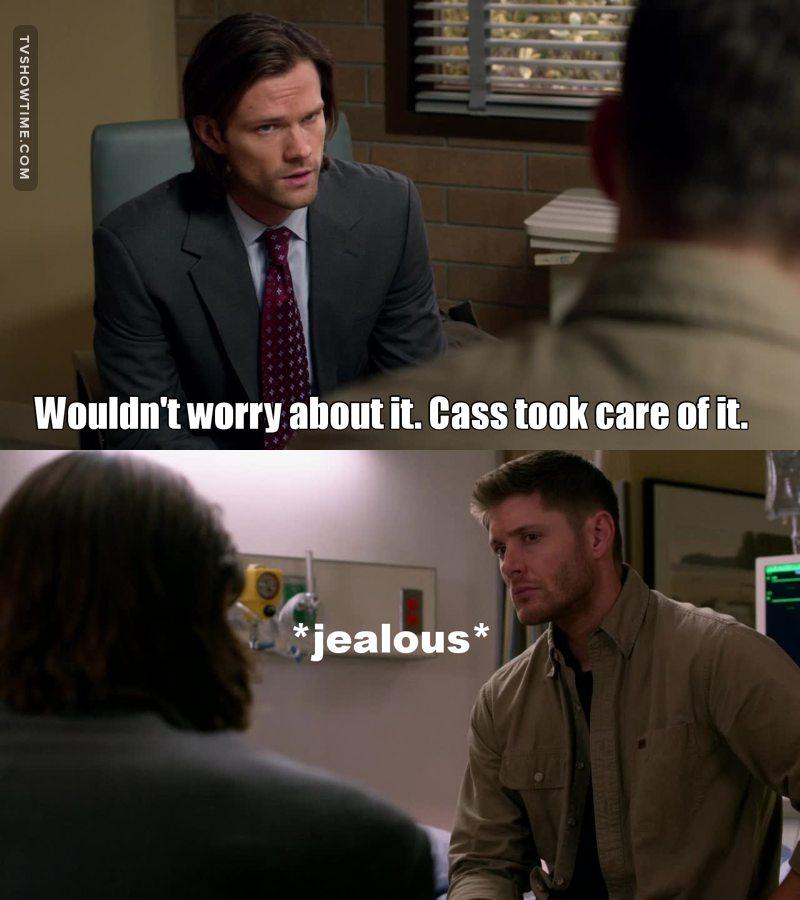 he's so jealous 😹