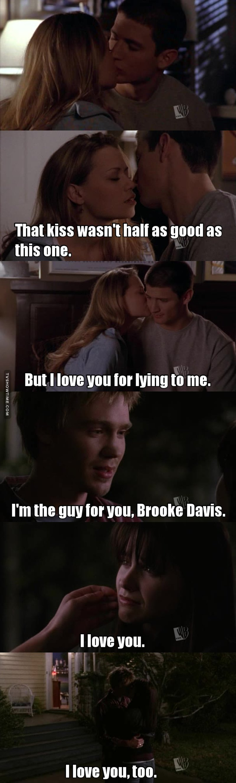 Despite Dan winning the election this episode was pretty awesome. I am really happy that my OTPs are finally back together, because it was becoming hard to watch all of them so heartbroken by being apart. Naley and Brucas love each other and they deserve to be happy. On the other hand, something got me curious, I can't wait to find out who helped Deb to try to kill Dan. I have my suspicious! Let's hope I'm wrong! 😱❤️