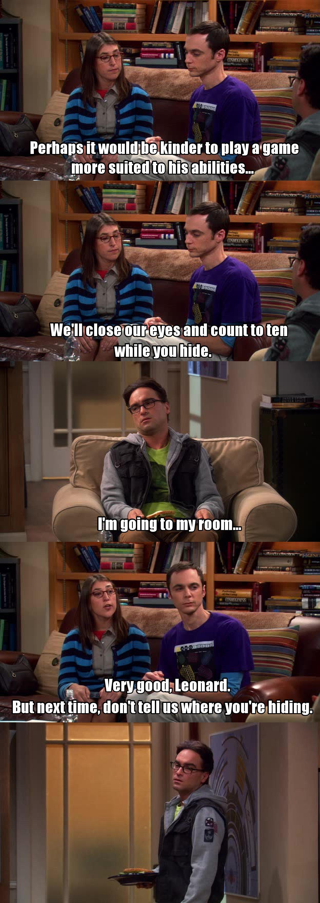 O Sheldon e a Amy são iguais!