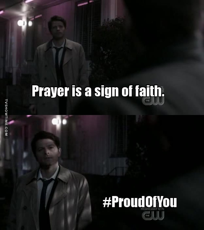 Babe Cas is proud of Dean 😍