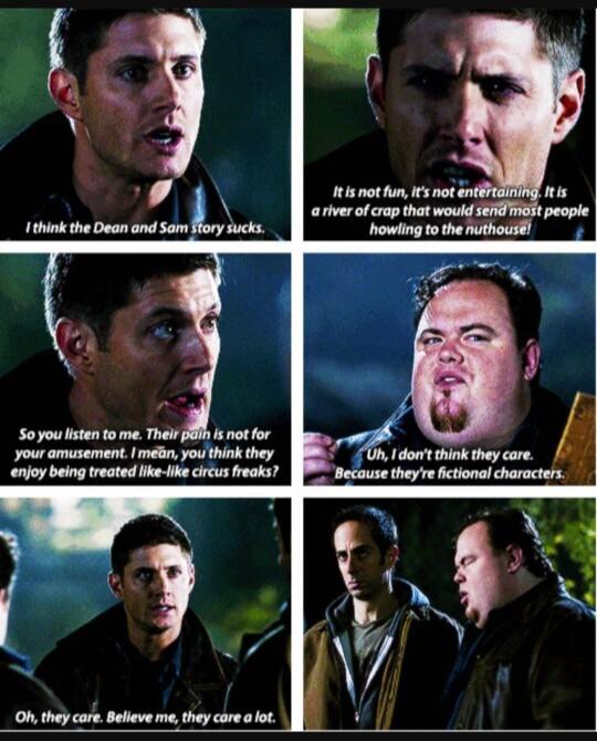 Poor Dean 😢
