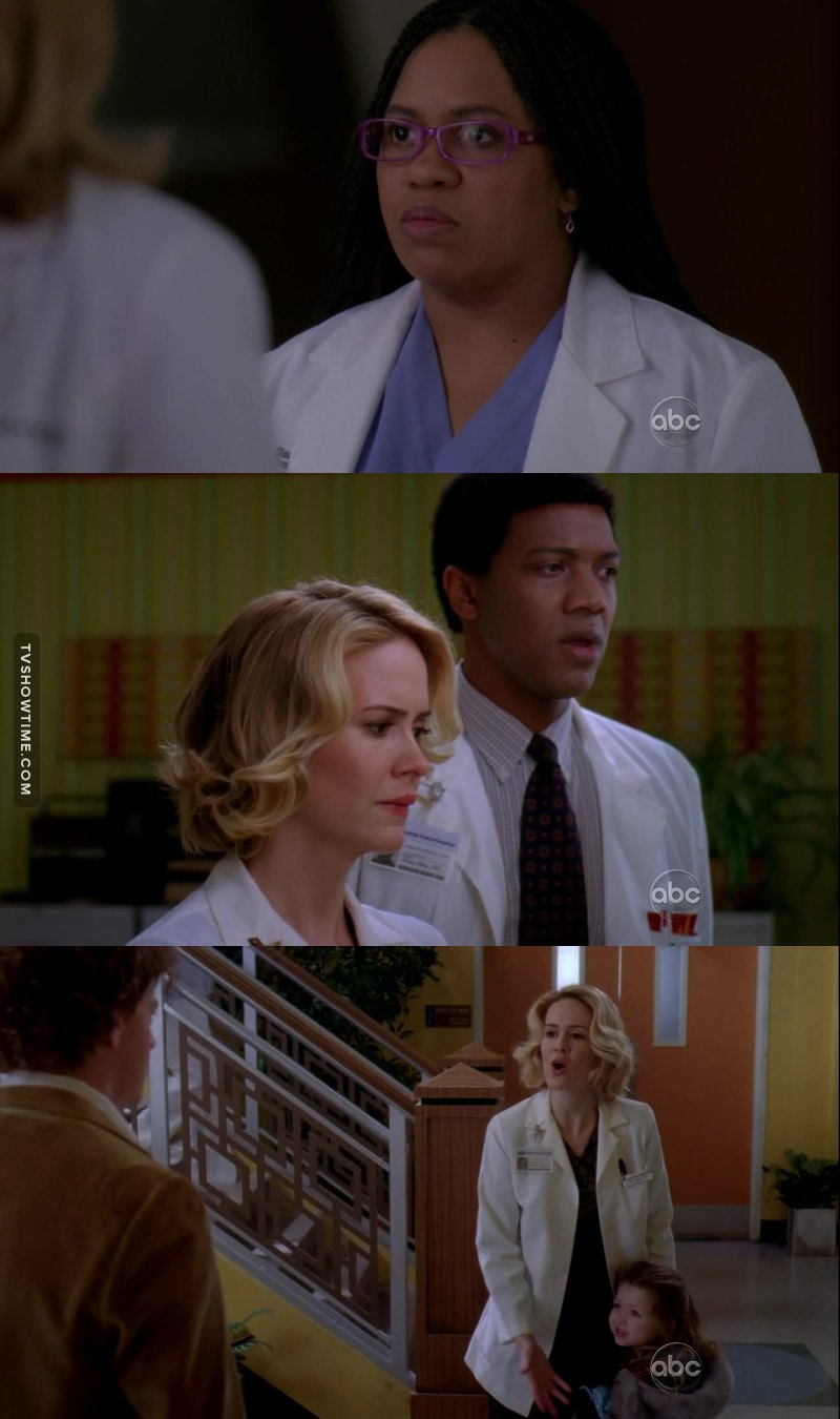 Miranda young Meredith young Richard and Elise Young  One of the best episodes of the series.