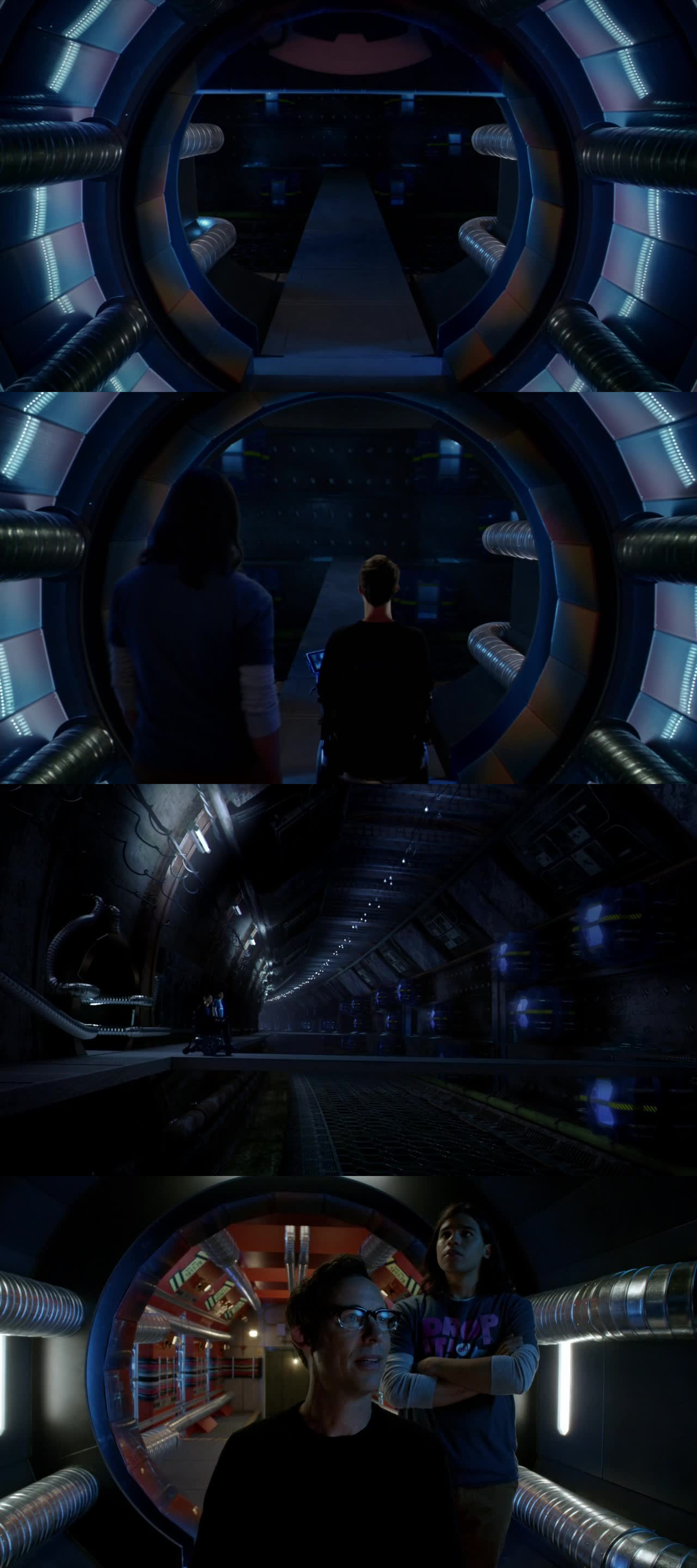 This scene reminds me of Charles Xavier and Cerebro.