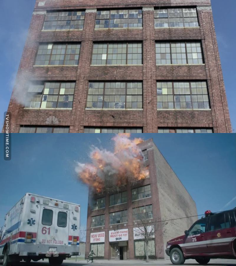 i felt that there was something wrong with this building.