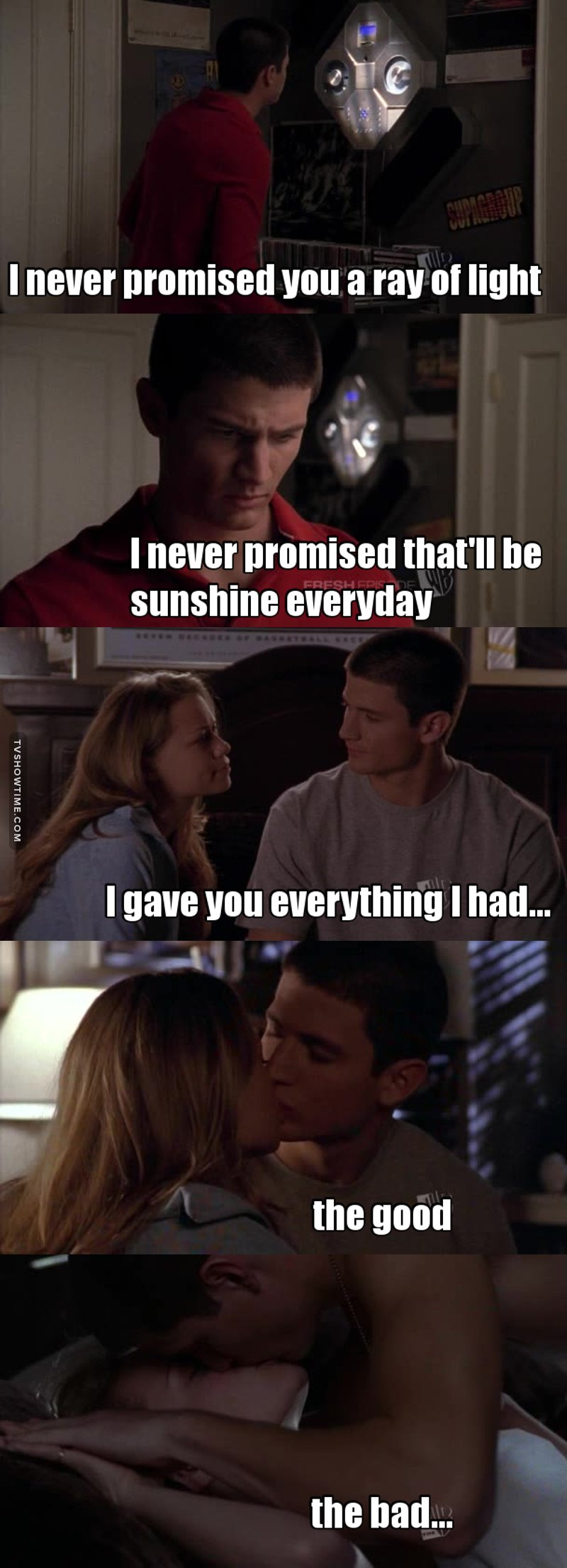 I love this moment... Nathan finally realizes it!!!