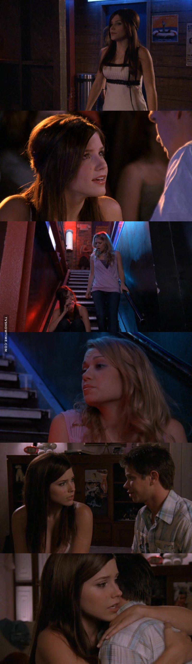 Amazing how Brooke can be such a loyal friend. While everyone was judging her and telling her what to do about her pregnancy she remained faithful to Haley and kept her secret. She didn't care about what people were saying as long as she was helping her best friend, that's why Brooke is awesome, she's a true friend. #TeamBrooke