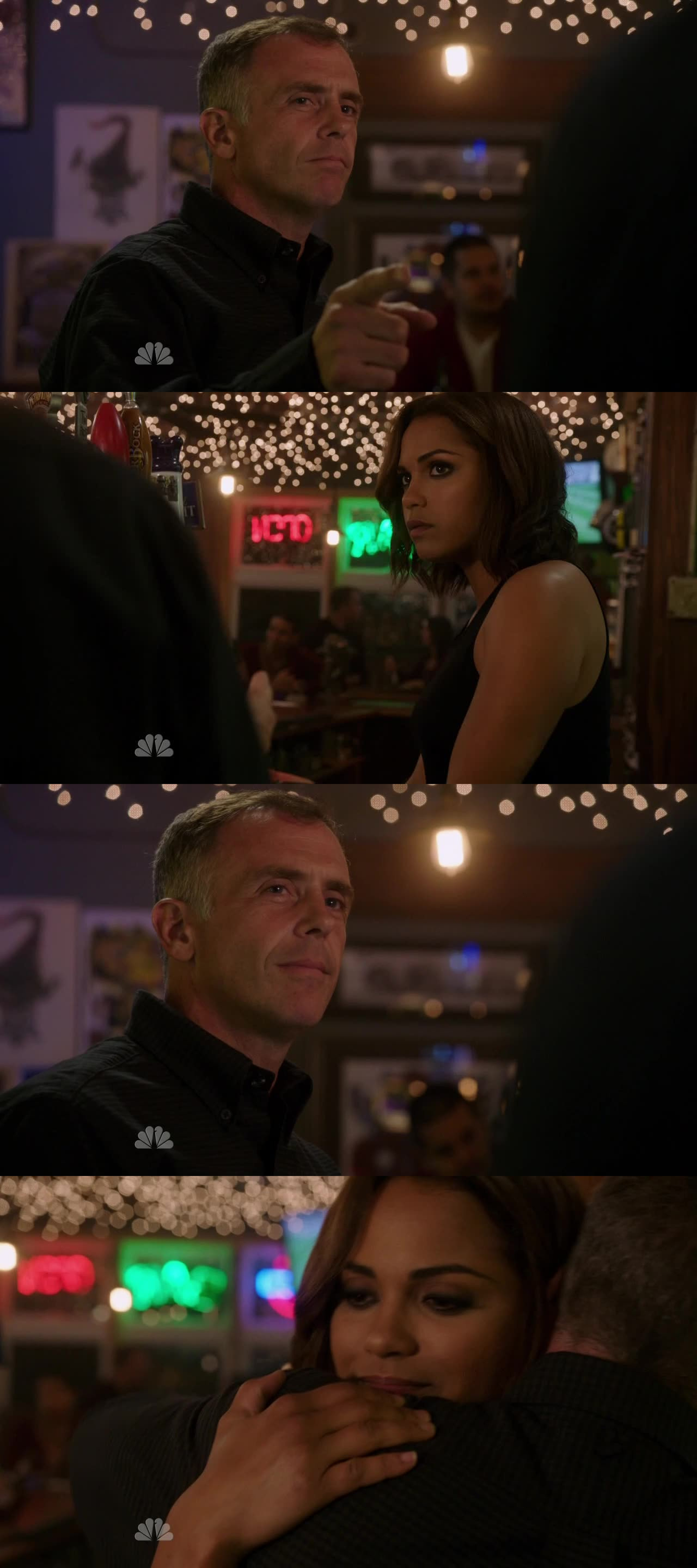 Love Herman, he is like the father of the family, to the house! Cute moment with Gabby here :)