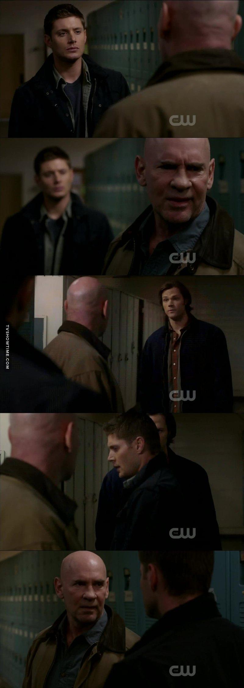 I love overprotective Dean, he was so cute defending Sammy😍