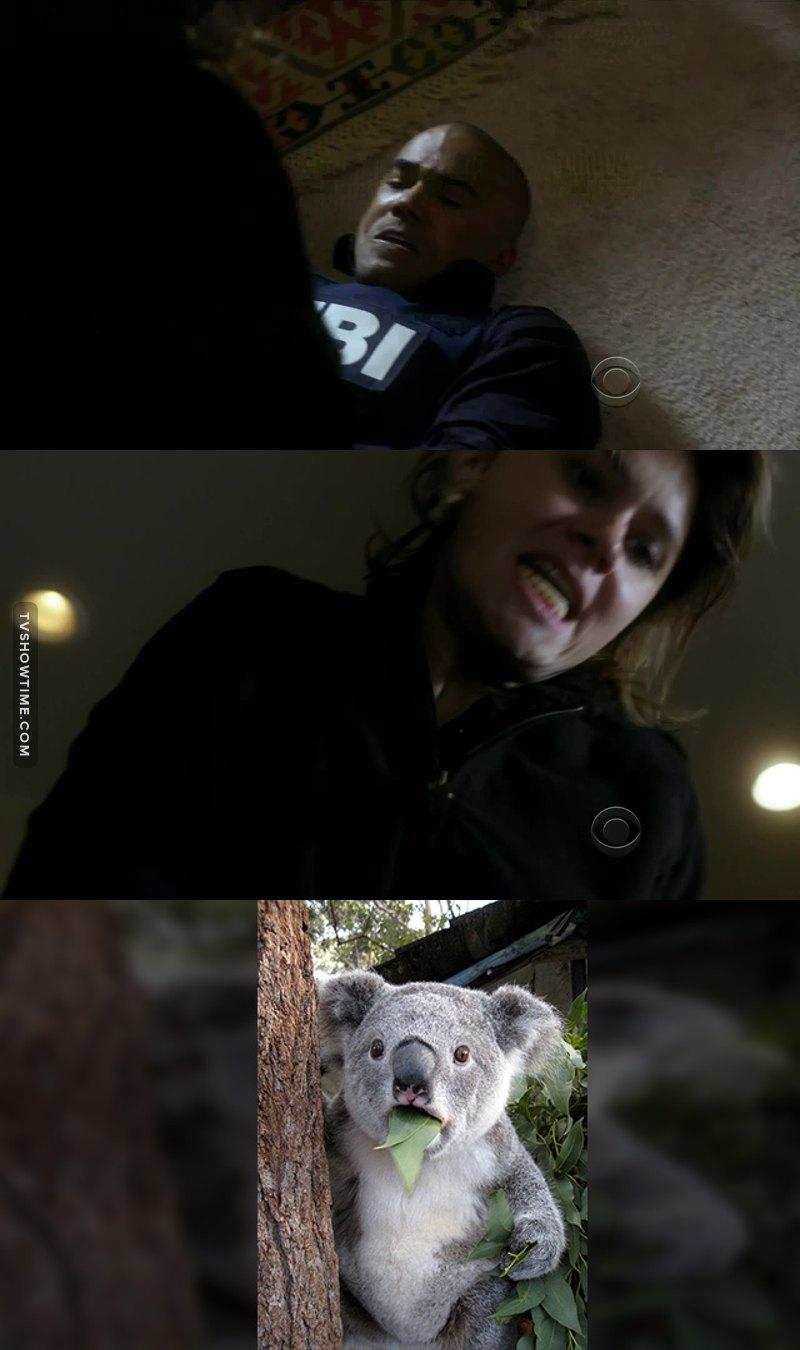 J'ai quand même eu peur pour Derek ...
