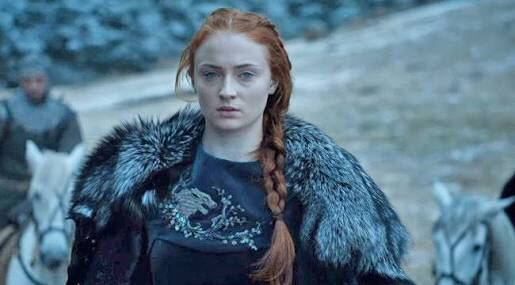 sansa saved winterfell and jon snow ass😍