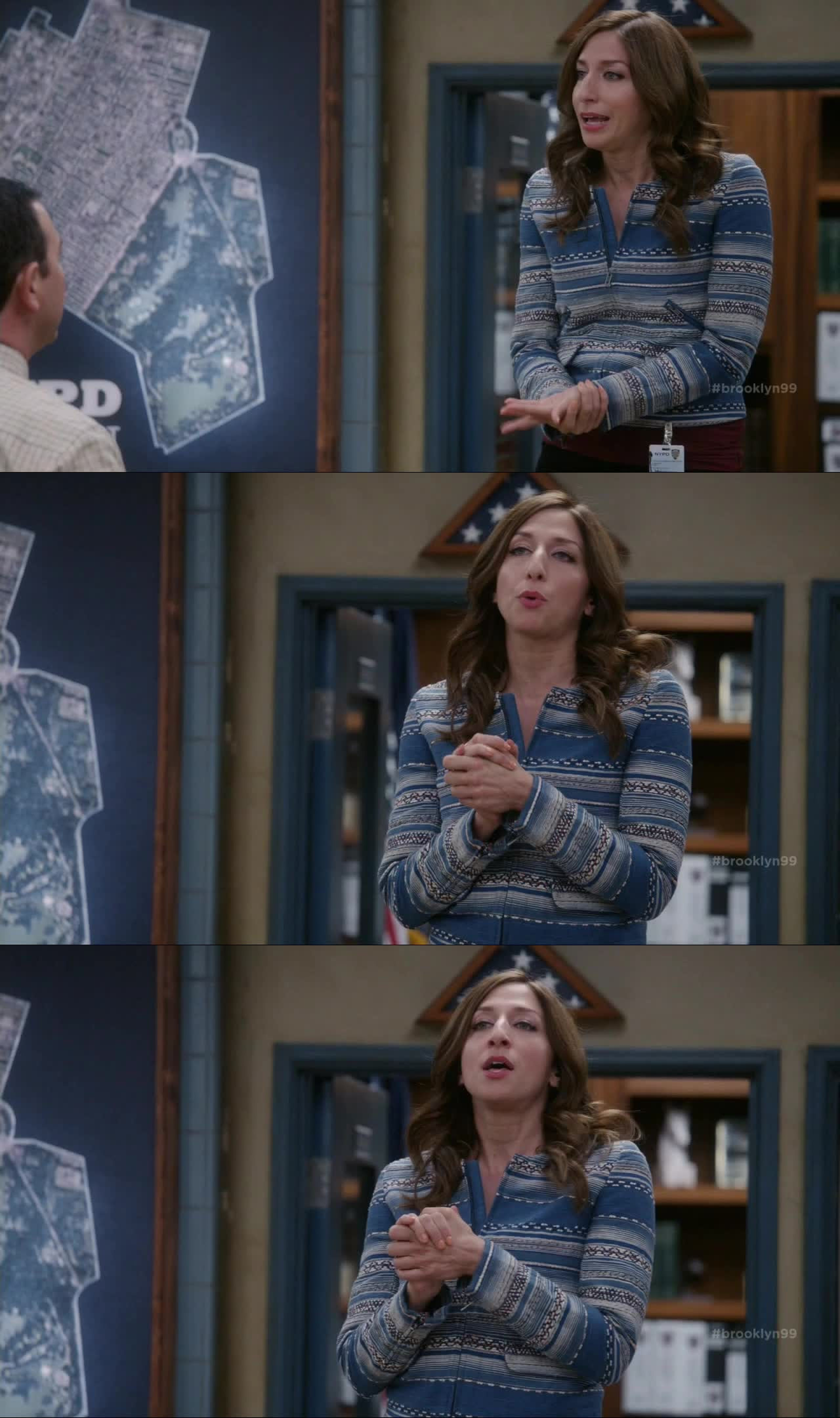 """""""I'm about to Olivia Pope this sitch!"""" Gina is the best, everytime she opens her mouth I'm dying of laughters."""