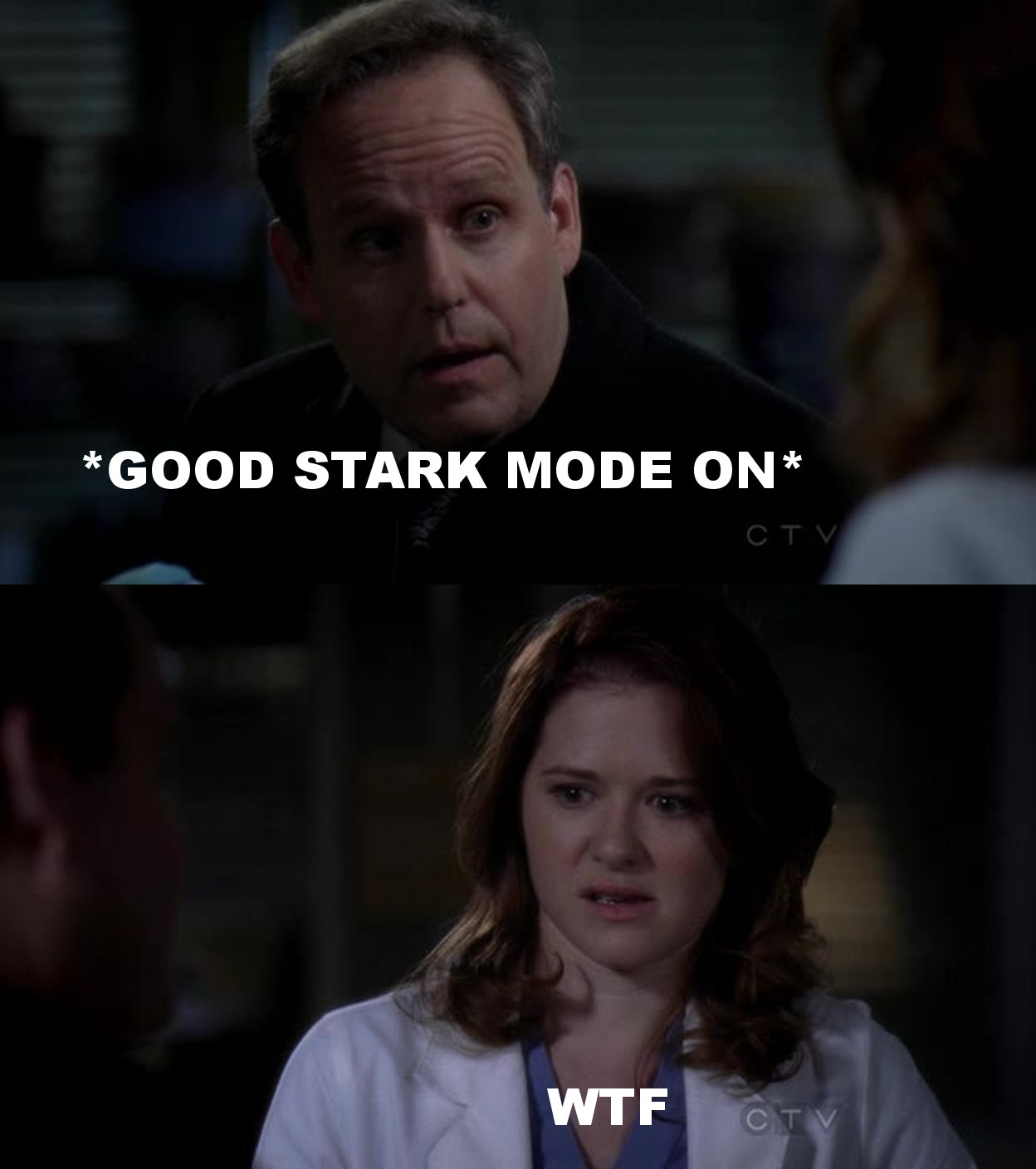 Stark :O P.S.: Arizona is disappointing me so much... :/