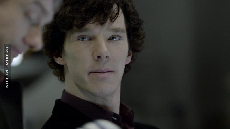 The way Sherlock looks at John.