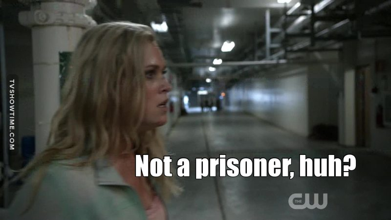 I loved Clarke in this episode! Go princess, go!