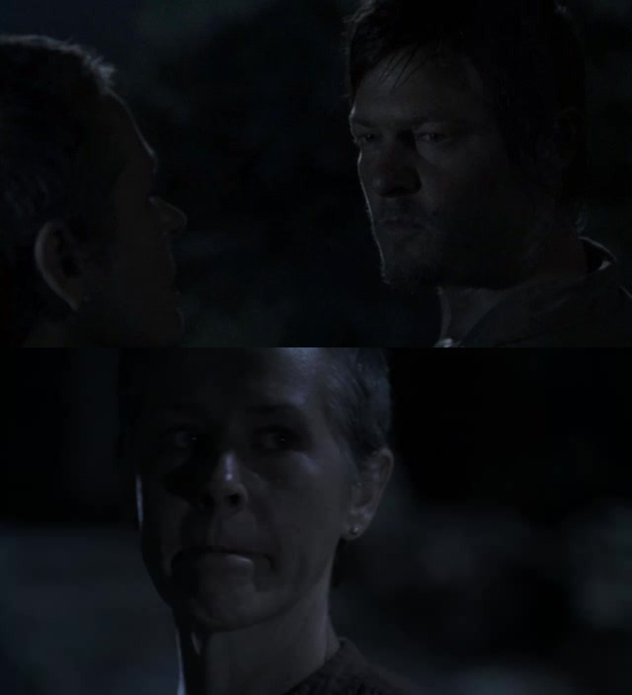 Daryl don't be like this. it's not your fault. don't push everyone away.