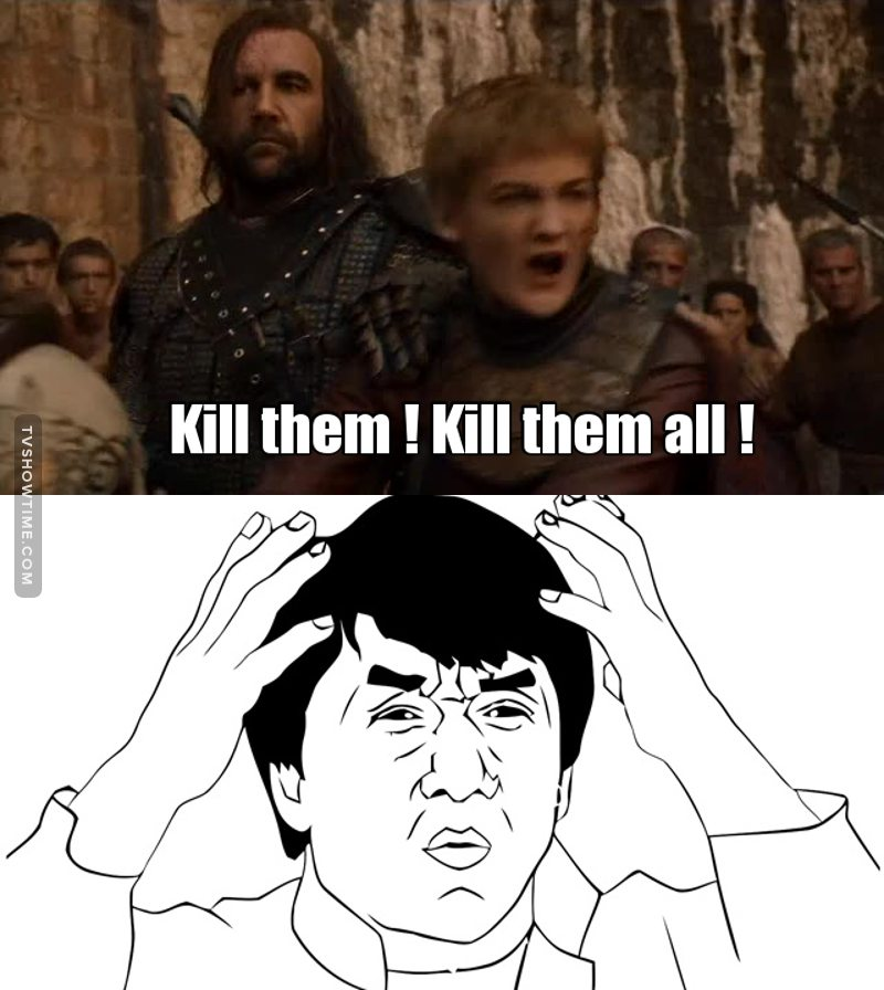 son of a bitch, pls die Joffrey
