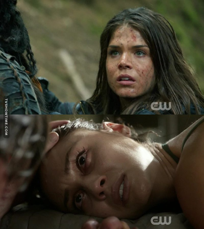 Octavia and Raven are definition of strong and brave  😍👌