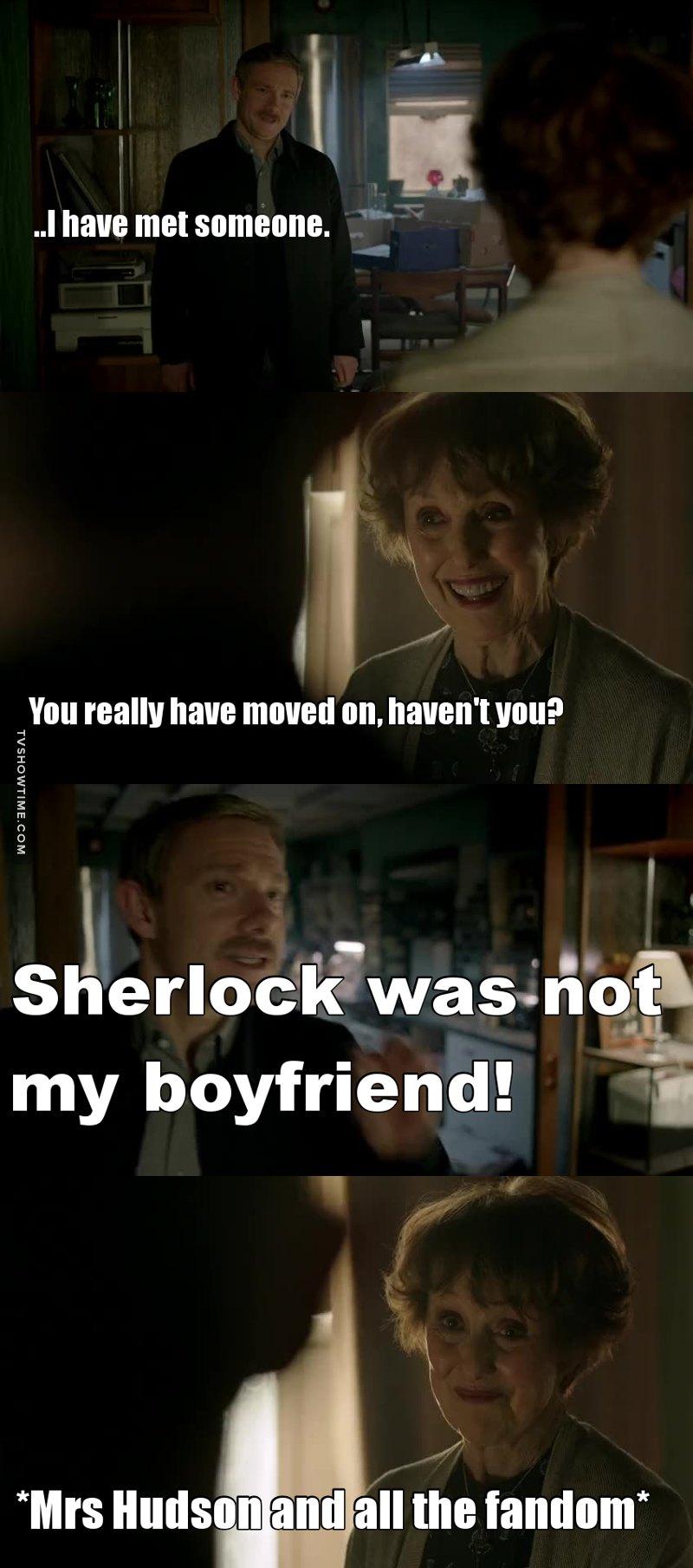 Mrs Hudson one of usssss!!!!!! 😝😎#Johnlockcanon