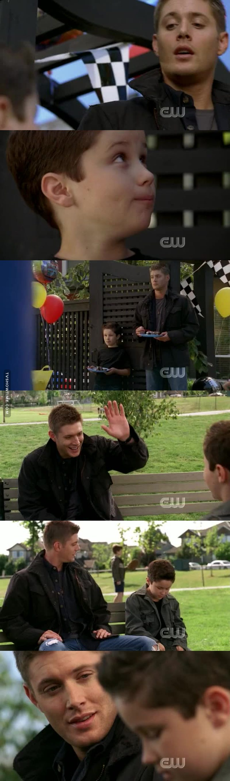 DEAN WOULD MAKE A GREAT DADDY🙊
