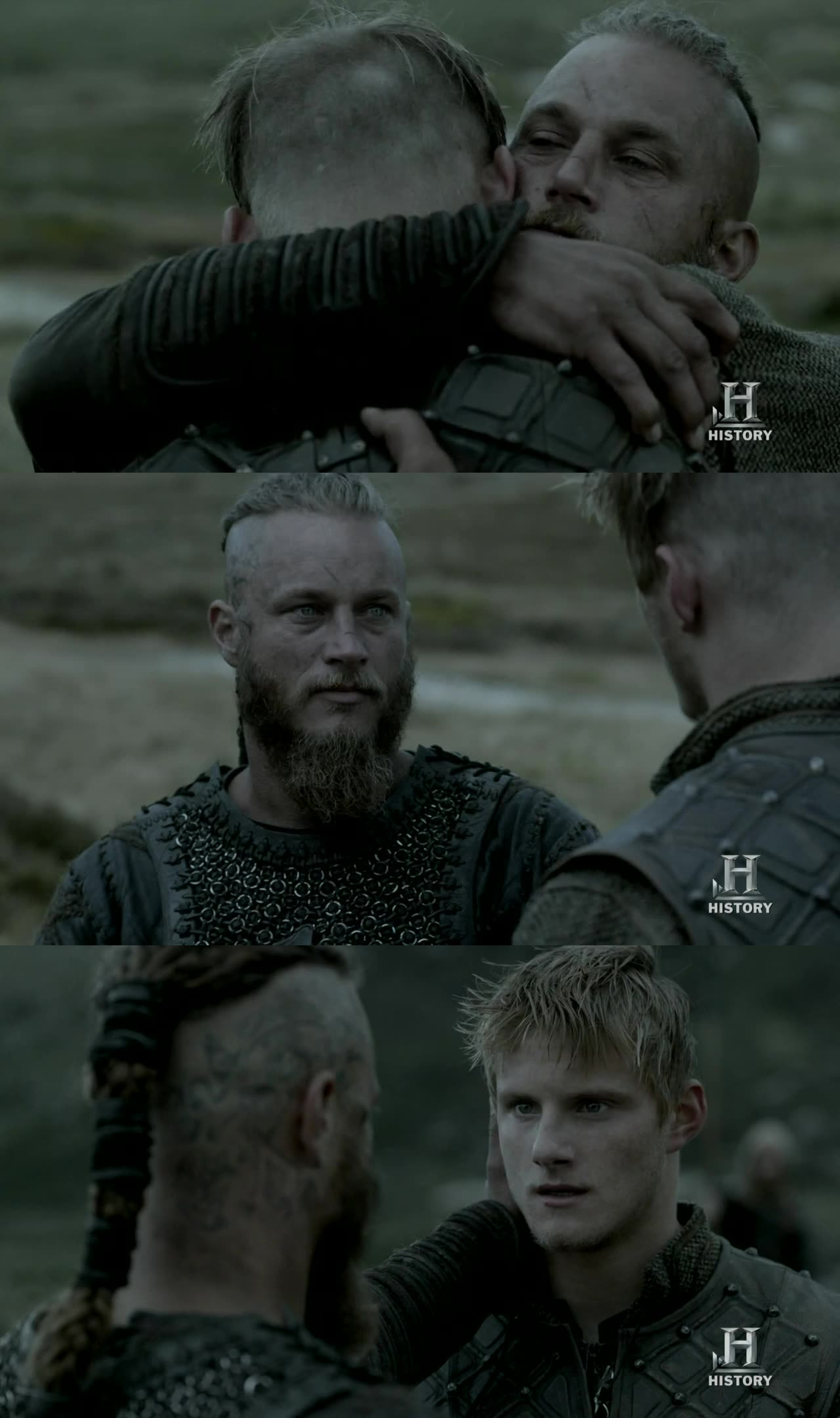 father and son, back together!!! Best scene...
