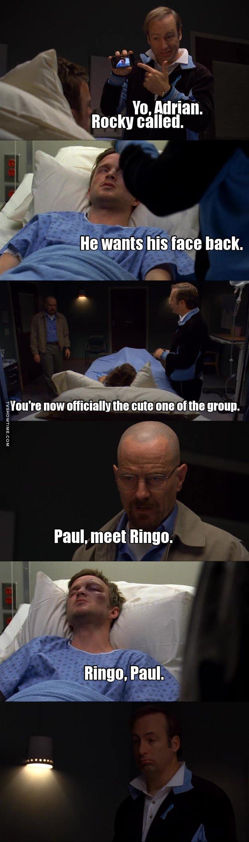 I love you Saul.