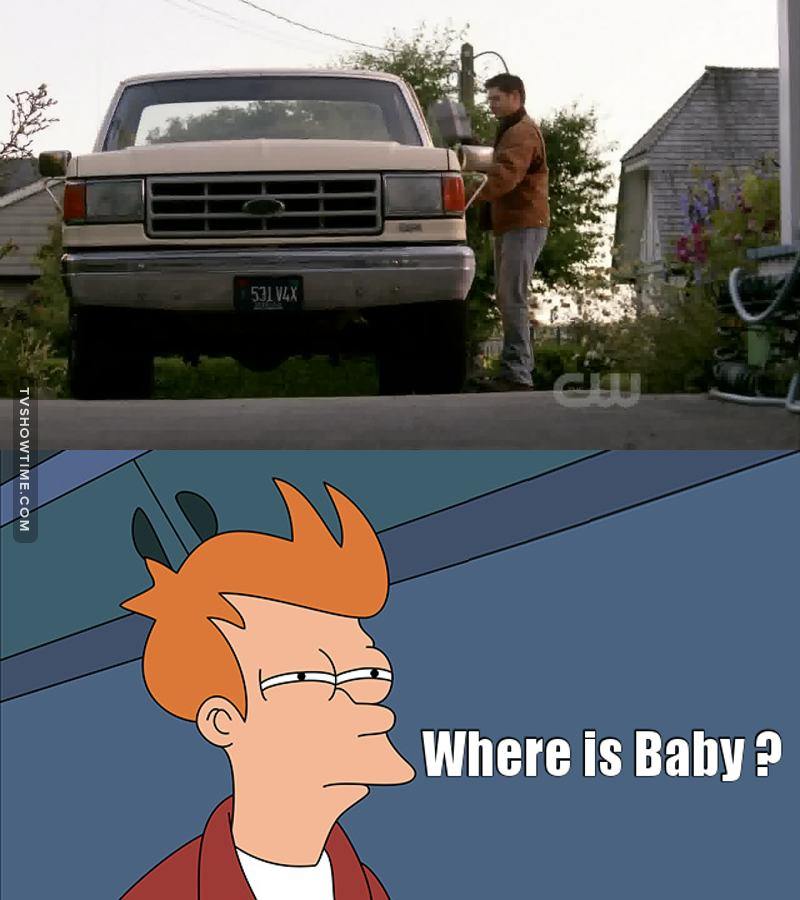 Dean without Baby is not Dean