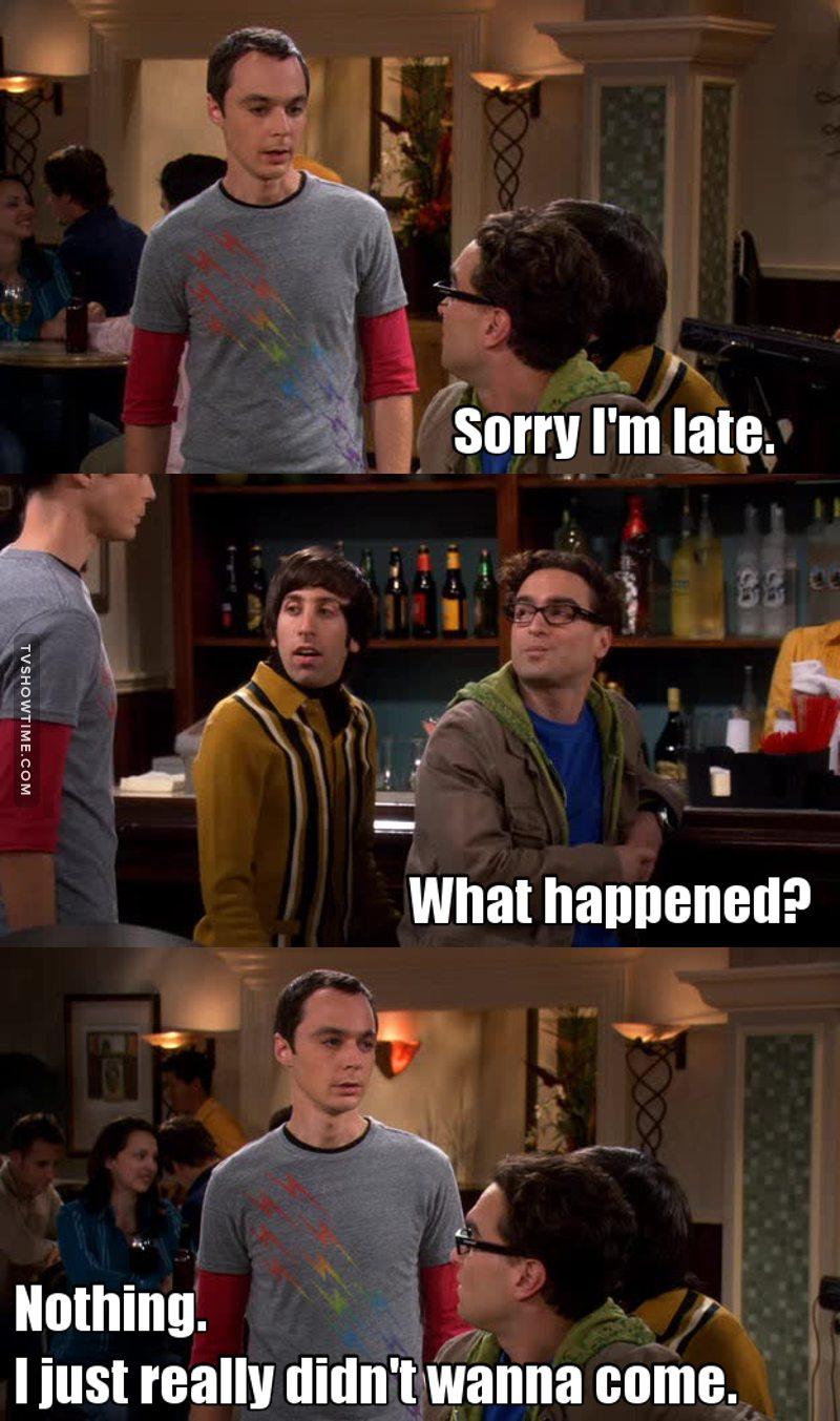 Sheldon è me.