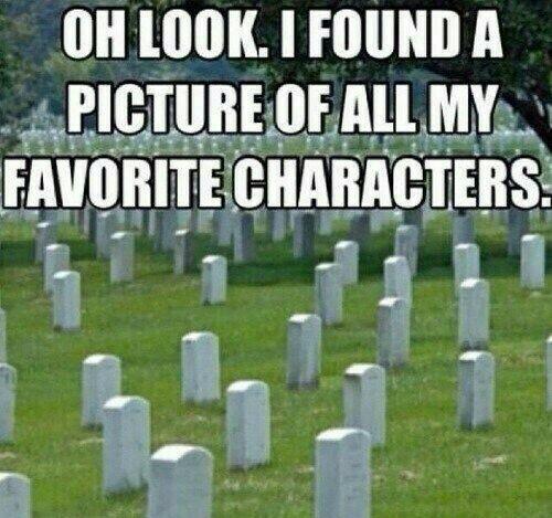 Grey's Anatomy fandom be like