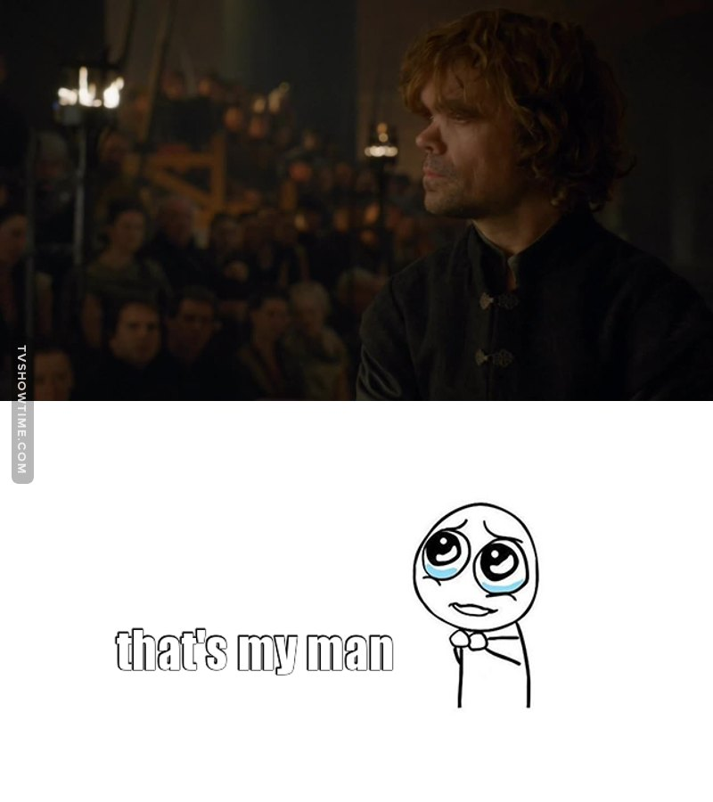 #TeamTyrion #fuckyouall #littlebastards