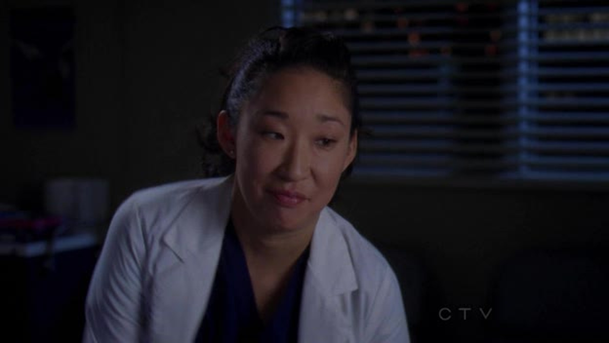 Yeee Cristina's smiling