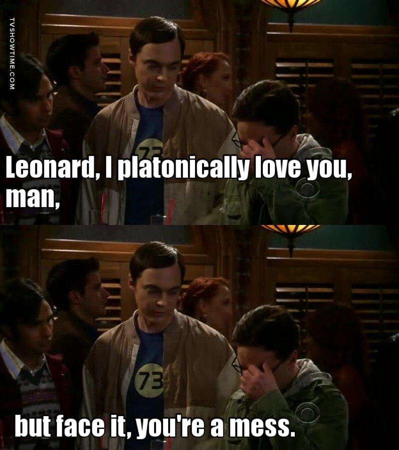Oh Sheldon.