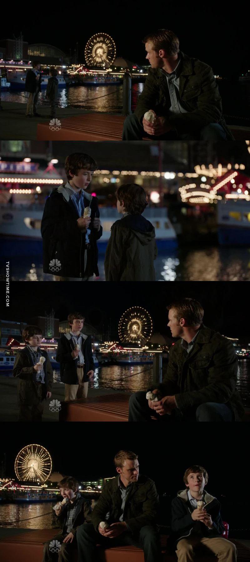 J'adore la relation entre Casey et les petits Darden