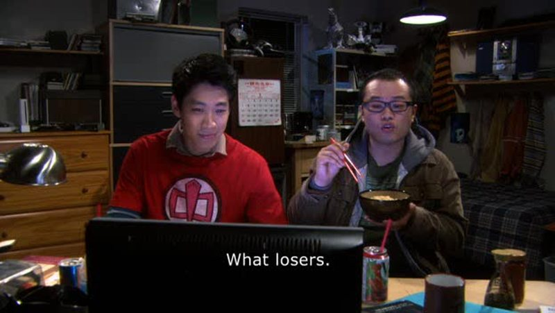 Unfortunately, China doesn't allow access to YouTube... and the Big Bang Theory...