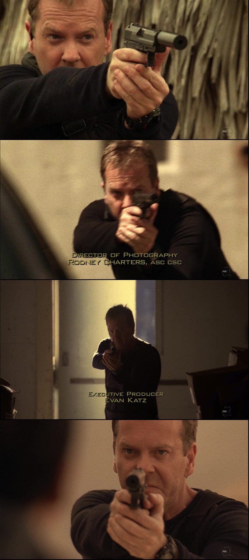 Jack Bauer is fucking awesome! When he got shot though, I held my breath for a moment there!
