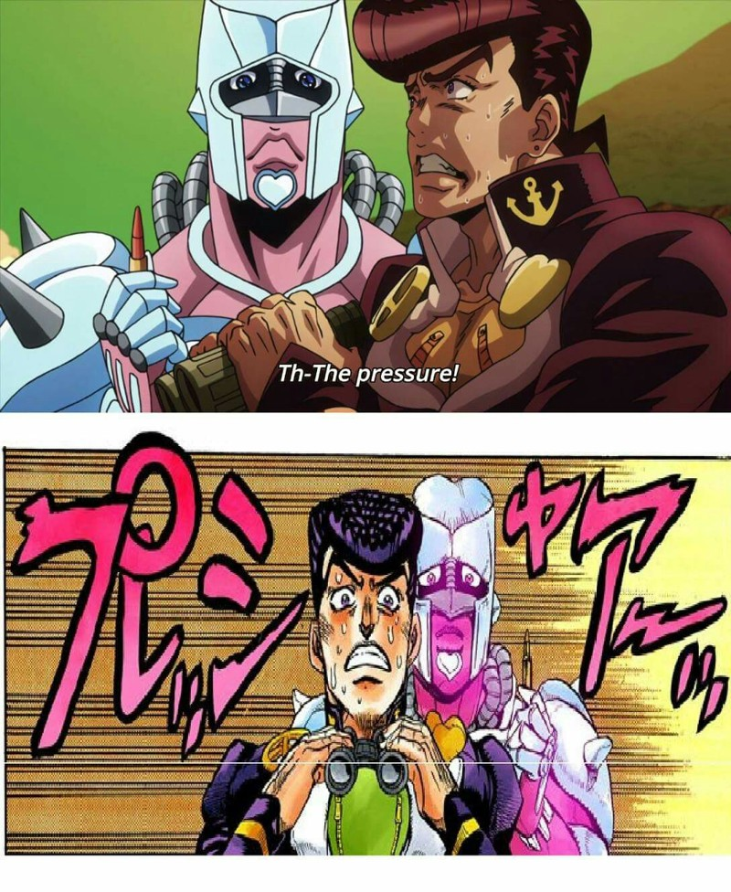 The exact moment I fell in love with Josuke and realised he is my spirit guide