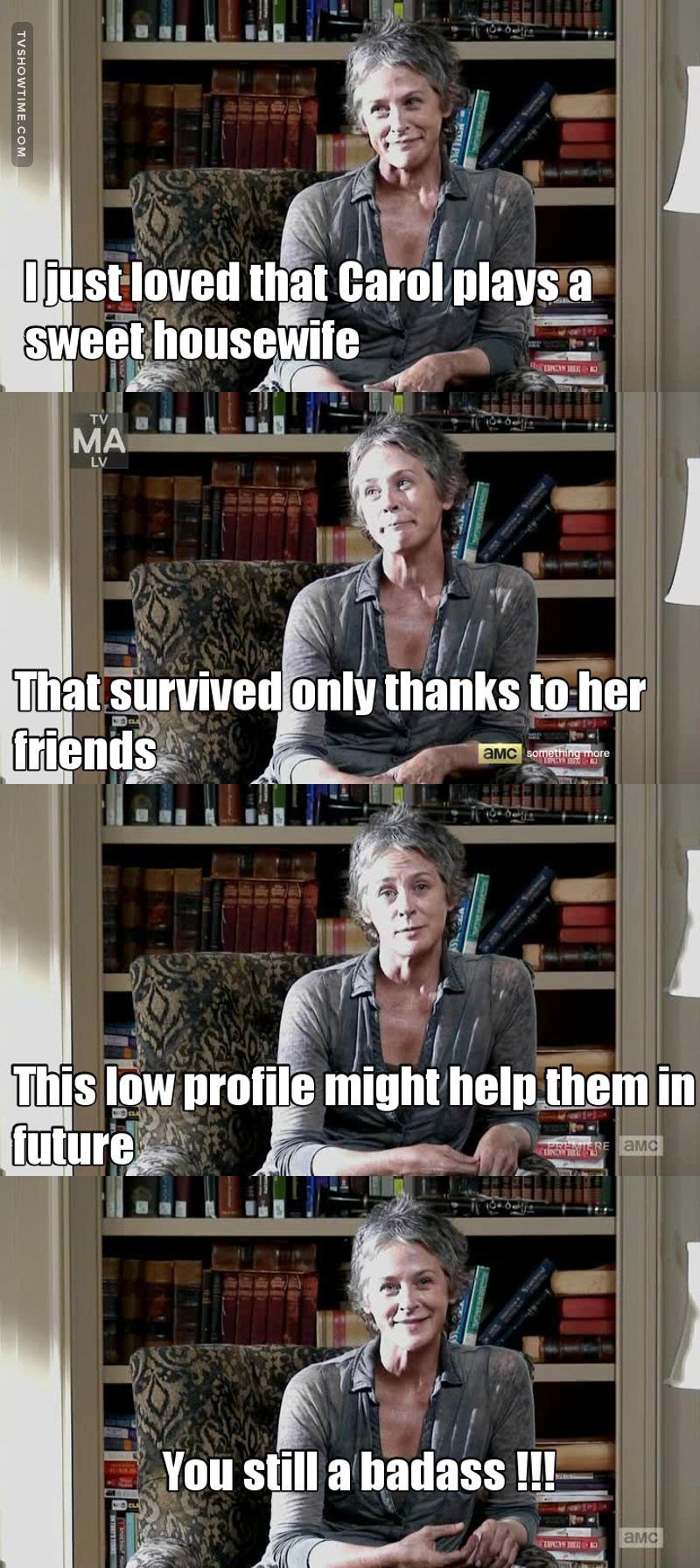 Love you Carol 😍😍😍