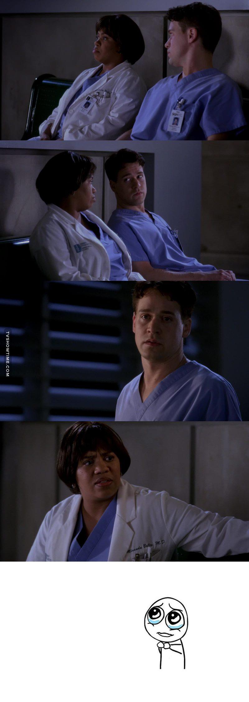 A relação desses dois é a melhor.. George está sempre pedindo permissão para a Bailey como se ela fosse a mãe dele e Bailey está sempre apoiando as burradas do George mesmo que não aprove suas decisões..