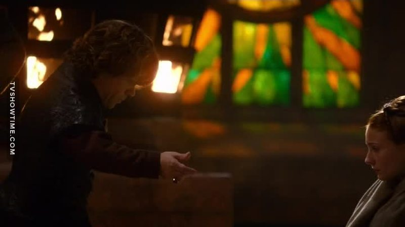 The only Lannister that I like, respect for Tyrion