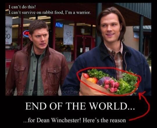 Poor Dean 😂😂😂