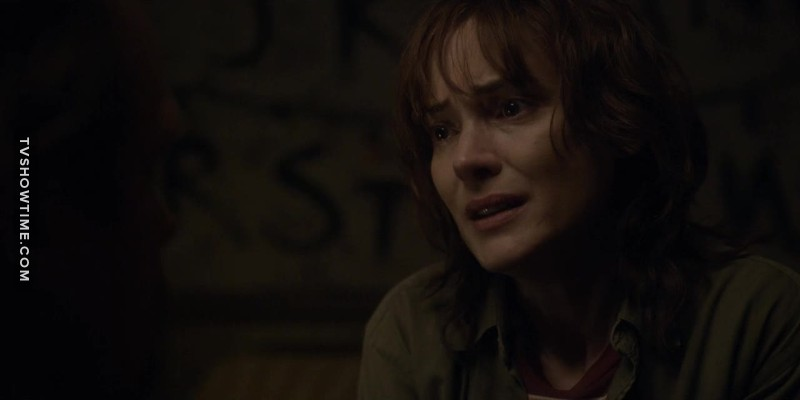 Can we all just take a moment to appreciate Winona Ryder? I forgot how impeccable she and her acting is.