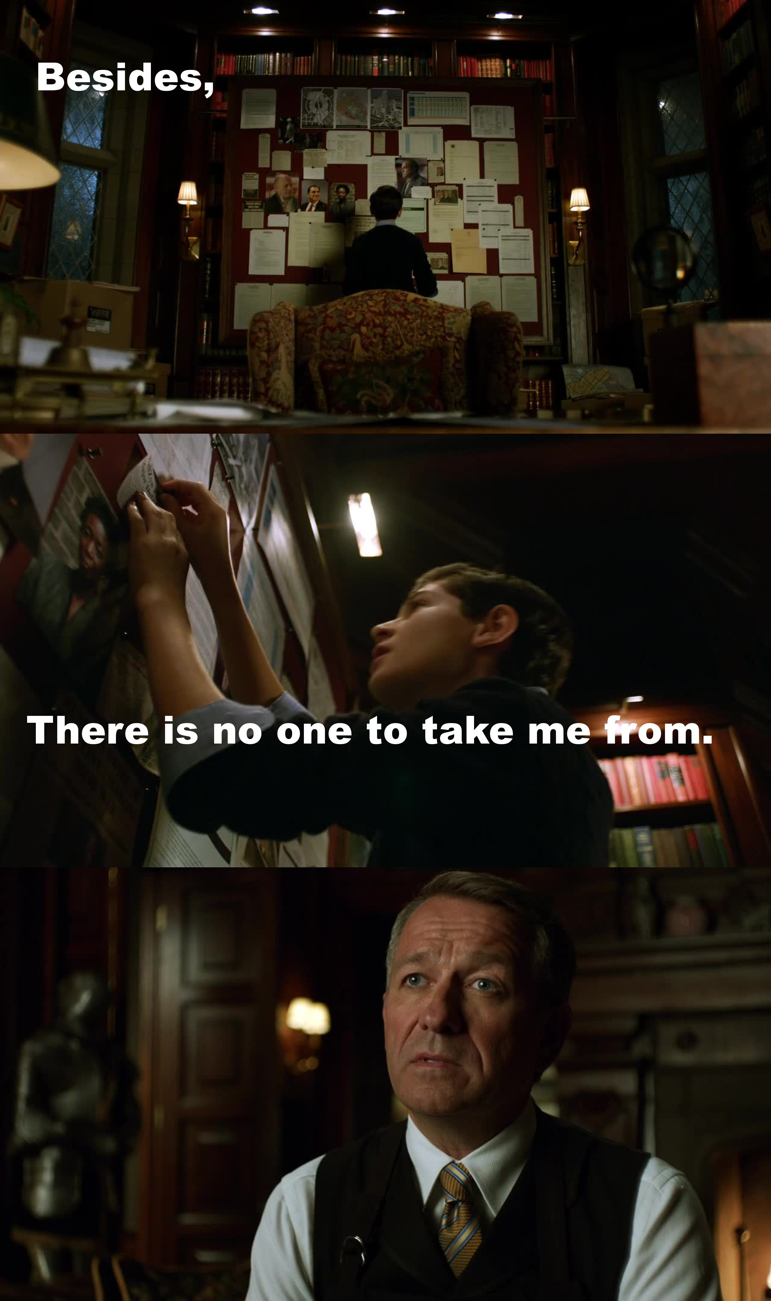 BRUCE DON'T BE MEAN TO Alfred Pennyworth