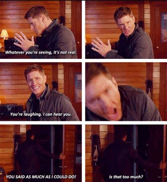 Jensen are beautiful , especially when you laugh 😍❤