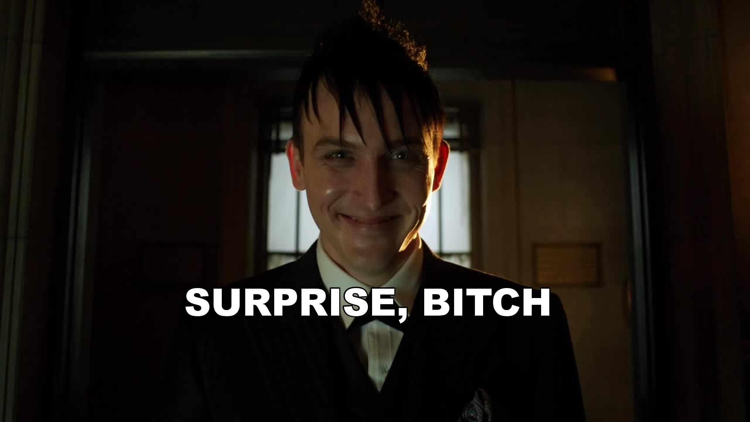 Hello... I'm Oswald Cobblepot!