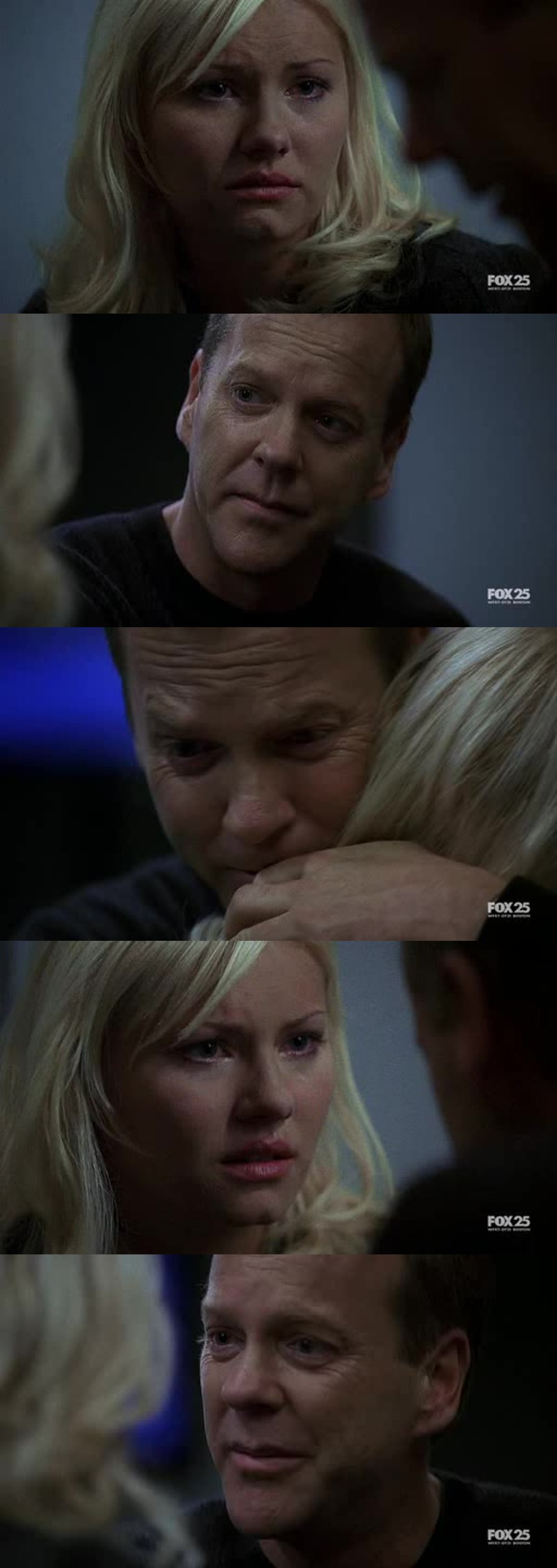 That was one fucking surprising twist. wtf Tony?!  But the scene between Jack and Kim totally broke me. So many emotions!