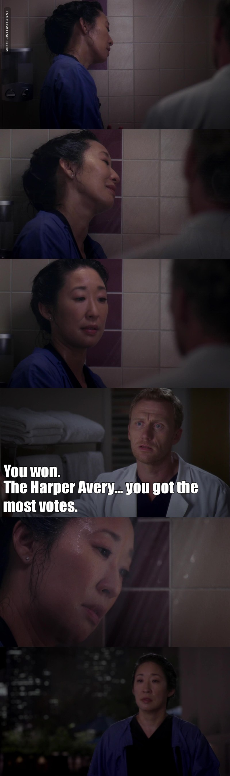 This is so not fair 😩☹️💔. She deserves everything great. SHE DESERVES ALL THE AWARDS 😭 FUCK THE HARPER AVERY.